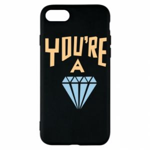 Etui na iPhone SE 2020 You're a diamond