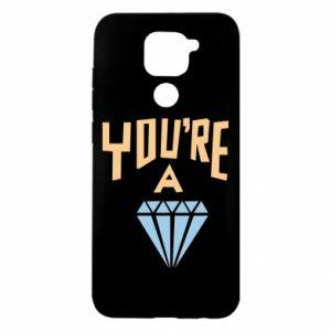 Etui na Xiaomi Redmi Note 9/Redmi 10X You're a diamond