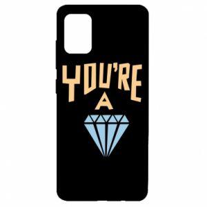 Etui na Samsung A51 You're a diamond