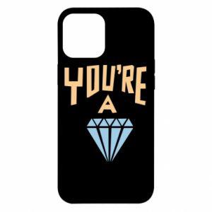 Etui na iPhone 12 Pro Max You're a diamond