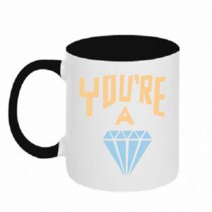 Kubek dwukolorowy You're a diamond