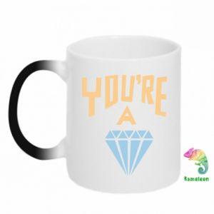 Kubek-magiczny You're a diamond