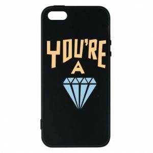 Etui na iPhone 5/5S/SE You're a diamond