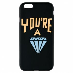 Etui na iPhone 6/6S You're a diamond
