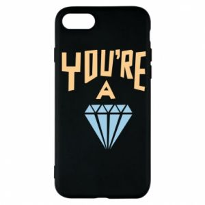 Etui na iPhone 7 You're a diamond