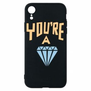 Etui na iPhone XR You're a diamond