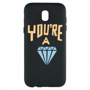 Etui na Samsung J5 2017 You're a diamond