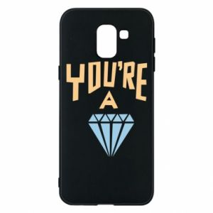 Etui na Samsung J6 You're a diamond