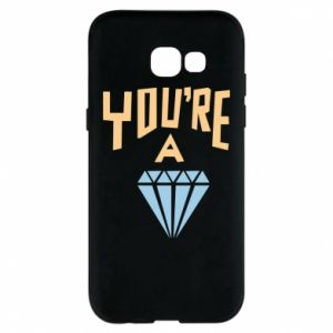 Etui na Samsung A5 2017 You're a diamond