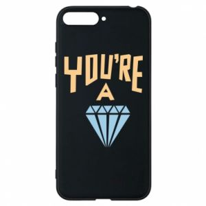 Etui na Huawei Y6 2018 You're a diamond