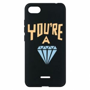 Etui na Xiaomi Redmi 6A You're a diamond