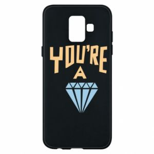 Etui na Samsung A6 2018 You're a diamond