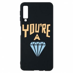 Etui na Samsung A7 2018 You're a diamond