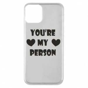 Etui na iPhone 11 You're my person