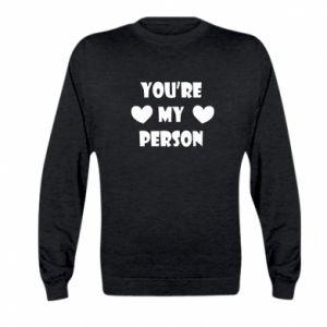 Bluza dziecięca You're my person