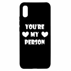 Etui na Xiaomi Redmi 9a You're my person