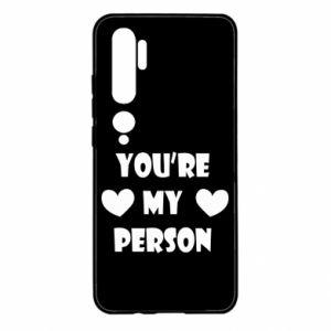 Etui na Xiaomi Mi Note 10 You're my person