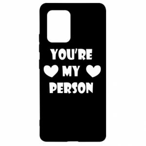 Etui na Samsung S10 Lite You're my person