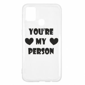 Etui na Samsung M31 You're my person