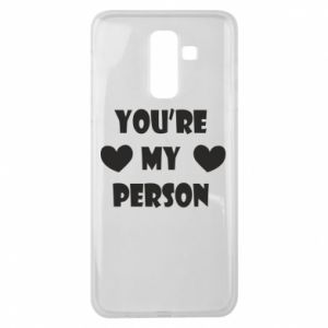 Etui na Samsung J8 2018 You're my person
