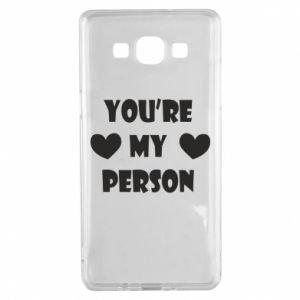 Etui na Samsung A5 2015 You're my person