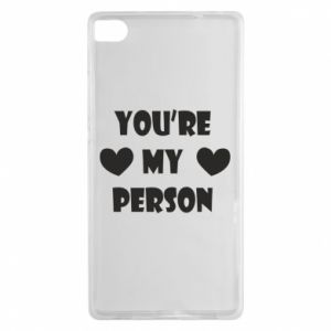 Etui na Huawei P8 You're my person