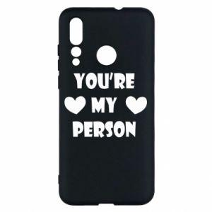 Etui na Huawei Nova 4 You're my person