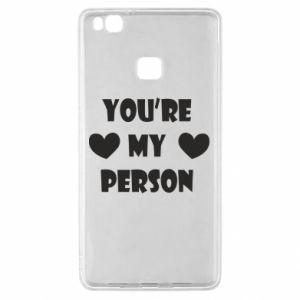 Etui na Huawei P9 Lite You're my person