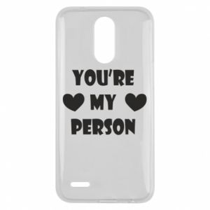 Etui na Lg K10 2017 You're my person