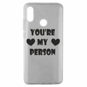 Etui na Huawei Honor 10 Lite You're my person