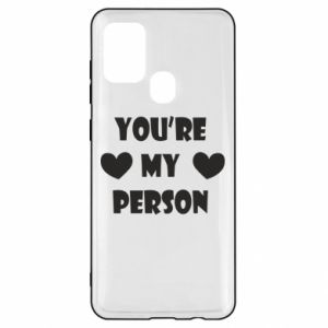 Etui na Samsung A21s You're my person