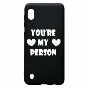 Etui na Samsung A10 You're my person