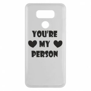 Etui na LG G6 You're my person