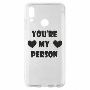 Etui na Huawei P Smart 2019 You're my person