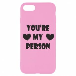 Etui na iPhone SE 2020 You're my person