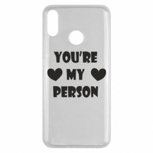 Etui na Huawei Y9 2019 You're my person