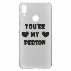 Etui na Huawei Y7 2019 You're my person