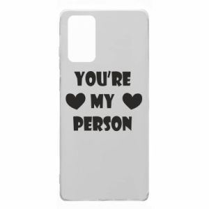 Etui na Samsung Note 20 You're my person