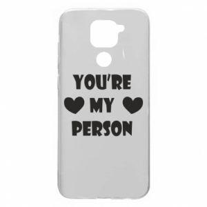 Xiaomi Redmi Note 9 / Redmi 10X case % print% You're my person