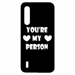 Etui na Xiaomi Mi9 Lite You're my person