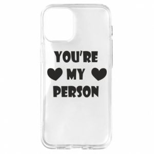 Etui na iPhone 12 Mini You're my person