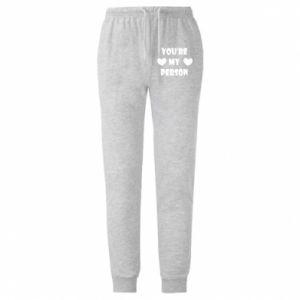 Spodnie lekkie męskie You're my person