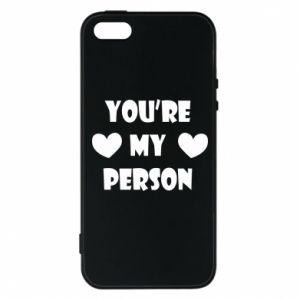 Etui na iPhone 5/5S/SE You're my person