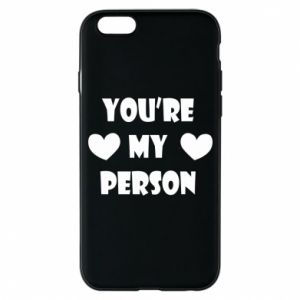 Etui na iPhone 6/6S You're my person