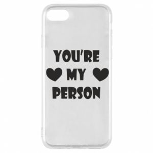 Etui na iPhone 7 You're my person