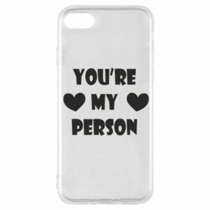 Etui na iPhone 8 You're my person