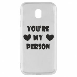 Etui na Samsung J3 2017 You're my person