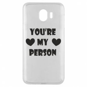 Etui na Samsung J4 You're my person