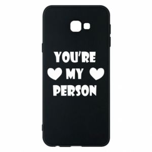 Etui na Samsung J4 Plus 2018 You're my person
