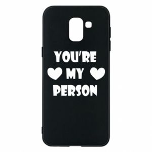 Etui na Samsung J6 You're my person